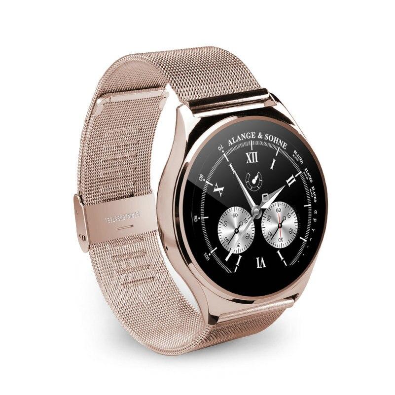 imágenes para Smart watch android wear us03 bluetooth ios android hombres mujeres reloj reloj de frecuencia cardíaca para el iphone se 5s samsung smartphones