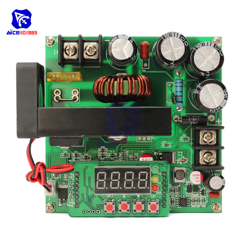 Image 3 - JUNTEK BST900W DC DC 8 60V to 10 120V Step Up Module LED Control Boost Converter Voltage Regulator Transformer Module-in Integrated Circuits from Electronic Components & Supplies
