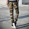 Camouflage Casual Sport Pants Fashion Mens Camo Joggers Sweat Pants Elastic Waist Jogging Sports Trousers
