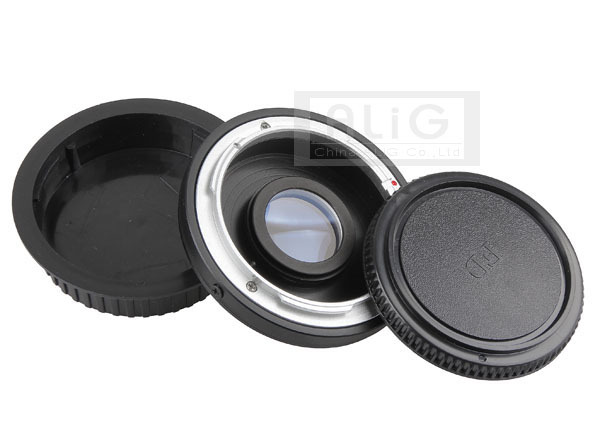 For Canon FD Lens to EF Camera Lens Adapter Ring with Correcting Glass for Canon EOS 50D 60D 70D 500D 600D 700D 5D 6D (FD-EF)