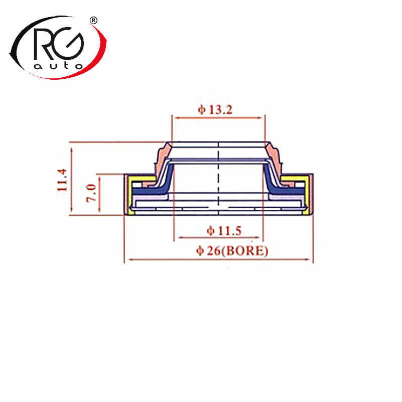 automotive air conditioning compressor seal oil seal/auto ac compressor  lip type rubber-mounted
