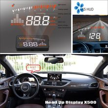 HUD Дисплей для Audi A6 S6 RS6 C6 C7-отражающее лобовое стекло Экран безопасного вождения Экран автомобиля проектор