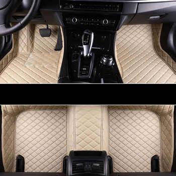 Car Wind car floor mat For hyundai veloster tucson 2019 accent 2008 sonata 2011 solaris 2011 elantra accessories carpet rugs - DISCOUNT ITEM  40% OFF All Category
