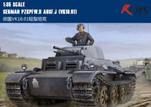 RealTS Hobby Boss model 83803 1 35 German Pzkpfw II Ausf J VK16 01 plastic model