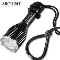 ARCHON D10XL 3 Mode White Diving Flashlight Underwater 100M Torch Waterproof LED Light by 18650 Battery for Outdoor Sports