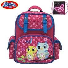 JASMINESTAR Children s School Bags 2017 New Butterfly Cat Owl Anime Backpack Orthopedic School Bag For