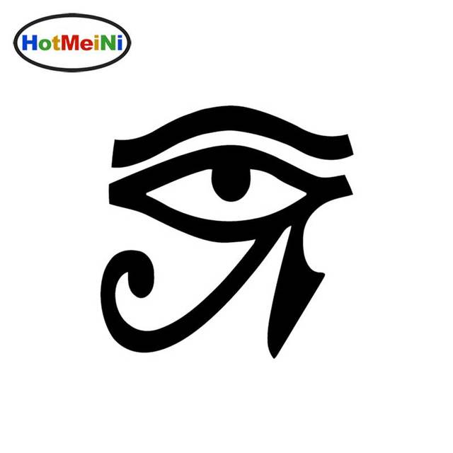 eye of horus vinyl sticker decal wall egypt pagan wiccan egyptian window car bumper van bike