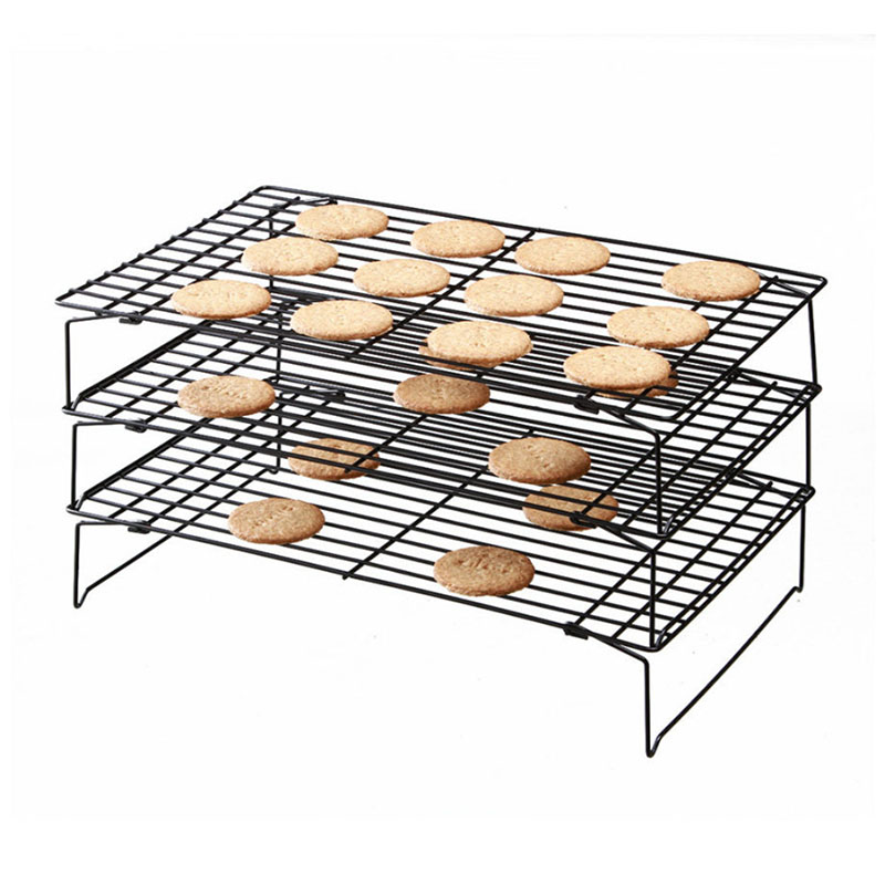 Hoomall Stainless Steel Brand 3Layers Baking Inserts Stand Kitchen Pastry Nonstick Cooling Rack DIY Cake Cookies Bread <font><b>Bakeware</b></font>