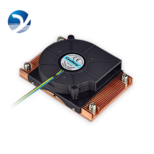 Image 3 - Active cooling Radiator Computer Cooling Products server CPU cooler Computer radiator Copper heatsink for Intel D9 01