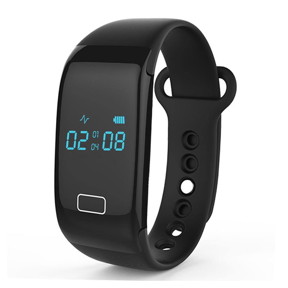 imágenes para Nueva Caliente BT4.0 Banda Inteligente Pulsera Heart Rate Monitor de Sueño Smartband Deportes Gimnasio Rastreador Pulsera para IOS Android Móviles