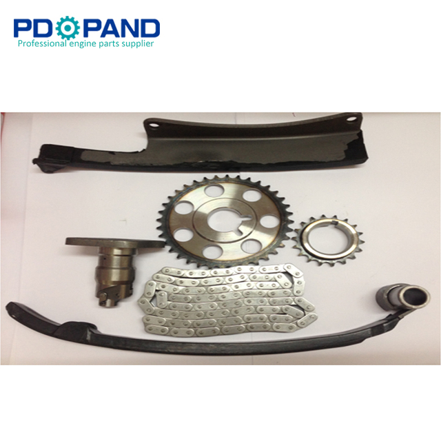 US $49 68 13% OFF|1RZ 1RZE 1RZFE 1RZ E 1RZ FE Engine Timing Chain Gear Kit  (6 pcs) for Toyota Hilux/Hiace -in Timing Components from Automobiles &