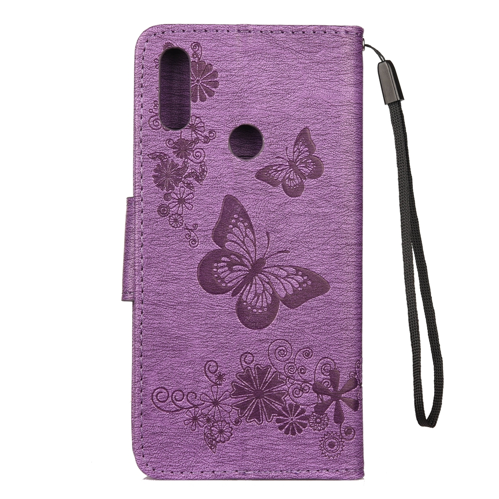 Image 2 - Redmi Note 7 Flip Phone Case for Funda Xiaomi Redmi Note 7 Case  Butterfly Leather Cover for Xiaomi Redmi Not 7 Pro Cases Capa-in Flip Cases from Cellphones & Telecommunications
