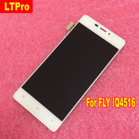 LTPro 4 8inch High Quality Tested Full LCD Display Touch Screen Digitizer Assembly For FLY IQ4516