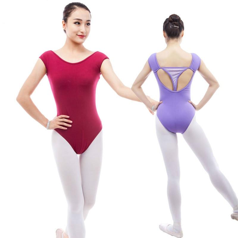 gymnastics leotard sleeveless leotards adults ballet tutu professional woman dress women costume Adult Sexy Dance Mesh dancewear