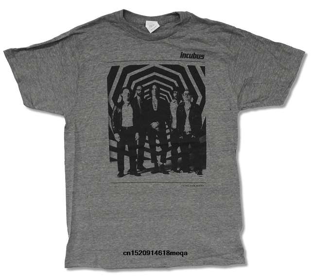 d3ff12d1 Us 12 9 Gildan Funny T Shirts Adult Incubus Zone Tour Valley Center Las  Vegas Grey