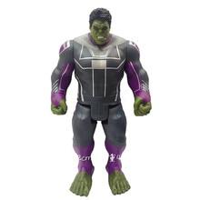The Avengers 4 Captain Marvel Hulk PVC Action Figure Super hero toy Collectible Model Toys for children