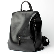 Натуральная кожа рюкзаки женские сумки 2017 черный моды путешествия рюкзак высокое качество молнии школьные сумки для подростков