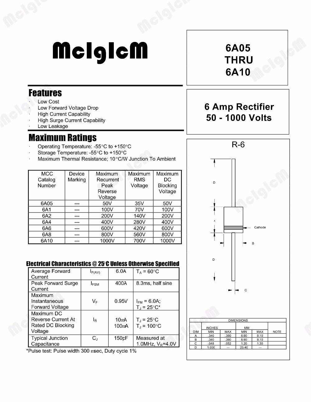 10pcs UST1A220MDD Condensatore elettrolitico THT 22uF 10V Ø5x7mm Retino 2mm NICH