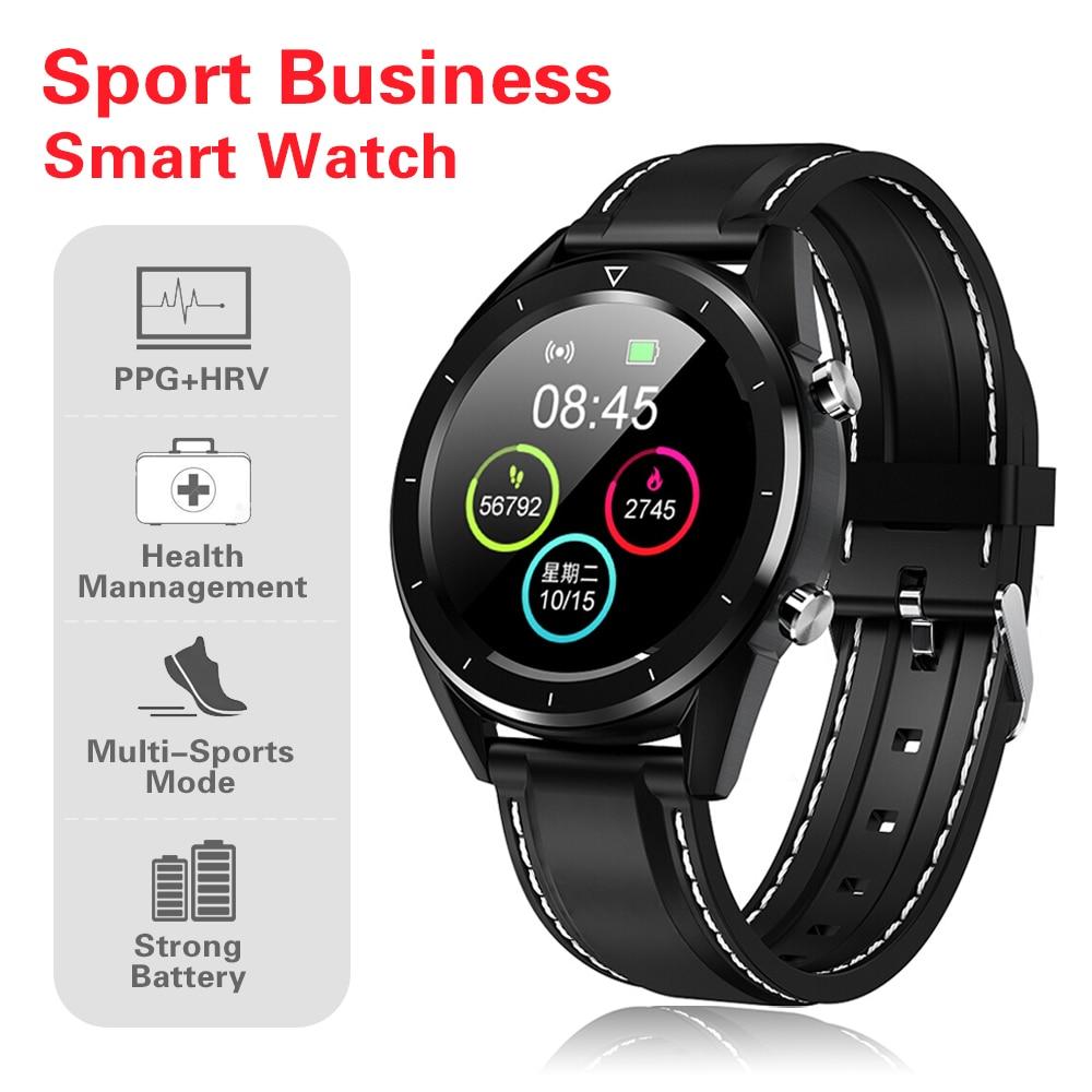 מיכל אסלה חרסה DT 28 גברים חכמים שעונים fashion1.54 אינץ מסך מגע Heart Rate Monitor שלב הרוזן בישיבה תזכורת Waterproof ספורט Smartwatch (2)