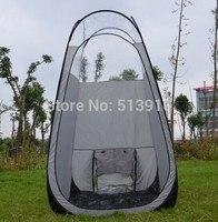 Promotie! Sunless zilvergrijs kleur pop up Spray Tanning tent met PVC dak/topkwaliteit populair in Europese & amerikaanse markt
