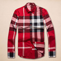 New 100% cotton casual Plaid shirt camisa masculina men shirt brand clothing camisas shirt men chemise homme camicia uomo