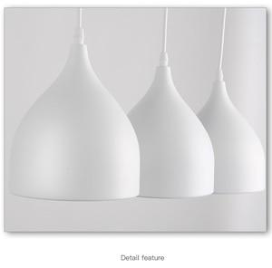 Image 5 - LukLoy Modern Pendant Ceiling Lamps Dining Table Lustre Pendant Lights Loft Lamp Hanglamp Nordic Hanging Kitchen Light Fixture