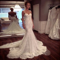 2017 Mermaid Sleeveless Sexy Backless Bridal Dresses With Spaghetti Straps vestido de noiva sereia Vintage Wedding Dress