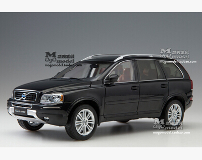 VOLVO classic XC90 XC 1:18 car model SUV alloy metal diecast Luxury cars original high quality Nordic collection gift toy boy maisto jeep wrangler rubicon fire engine 1 18 scale alloy model metal diecast car toys high quality collection kids toys gift