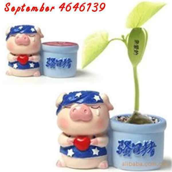 5 PCS Magic ปลูกข้อความถั่ว Bonsais Magic Bean ภาษาอังกฤษ Magic Bean Potted สีเขียวสำนักงานบ้านปีนเขา Potted พืช