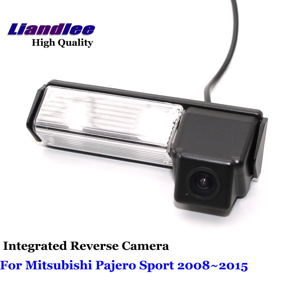 Liandlee Car Reverse font b Camera b font For Mitsubishi Pajero Sport 2008 2015 Rear View