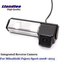 Liandlee Car Reverse Camera For Mitsubishi Pajero Sport 2008~2015 Rear View Backup Parking Camera / SONY CCD HD Integrated