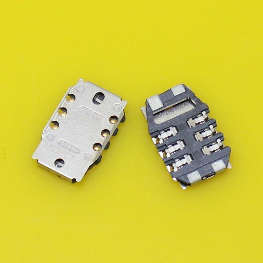 Sim card reader holder tray slot adapters for vivo Y15T S7 Y11 Y13 sim card socket connector.2pcs/lot.