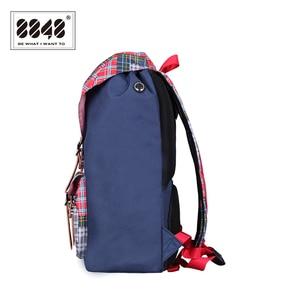 Image 3 - حقيبة ظهر للسفر من علامة تجارية 8848 حقيبة ظهر مقاومة للماء مقاس 15.6 بوصة حقيبة ظهر من مادة البوليستر بتصميم هندسي S15005 6