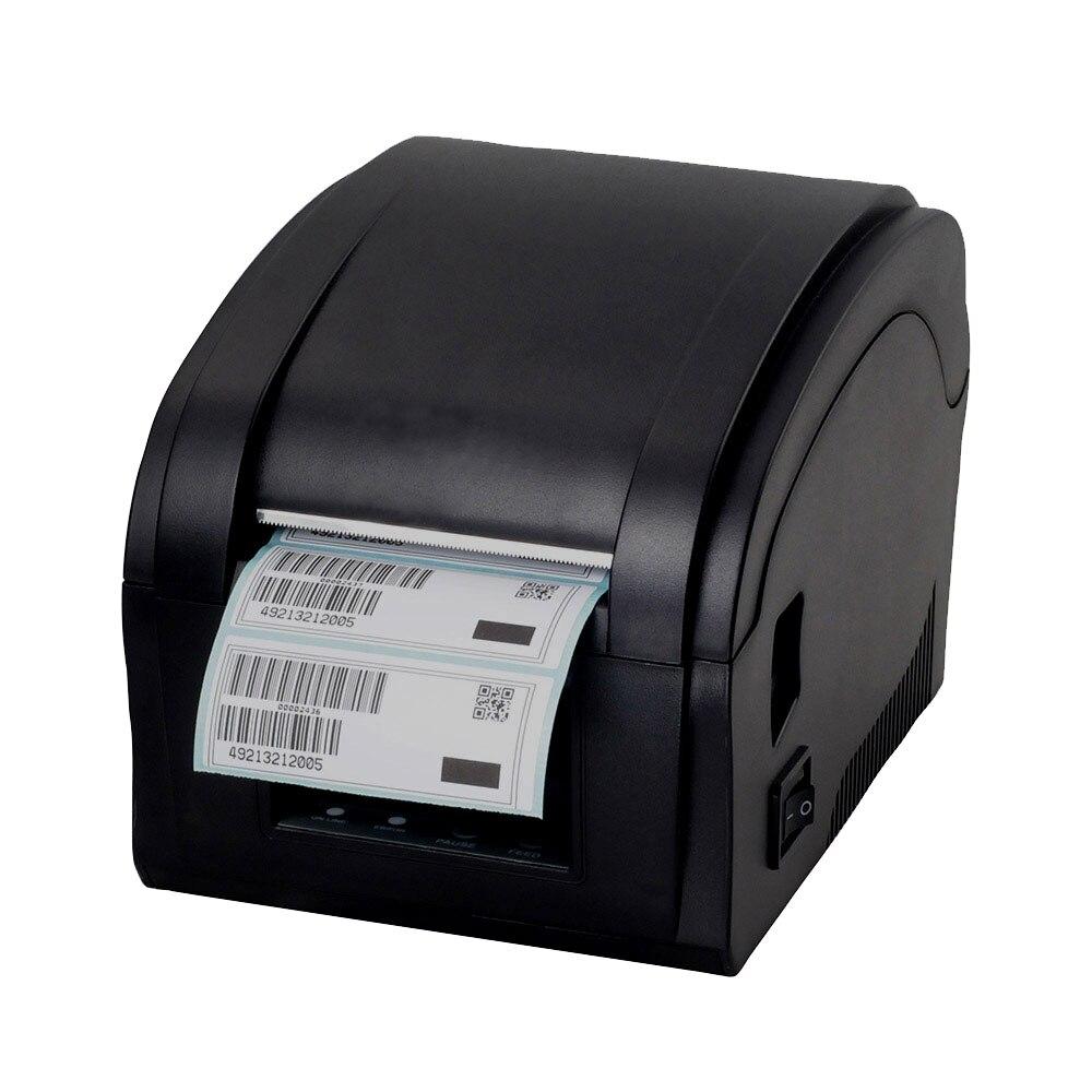 גבוהה באיכות Qr קוד מדבקת מדפסת ברקוד מדפסת תרמית דבק תווית בגדי מדפסת תווית מדפסת