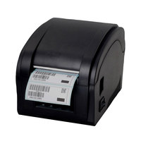 High quality Qr code sticker printer barcode printer Thermal adhesive label printer clothing label printer