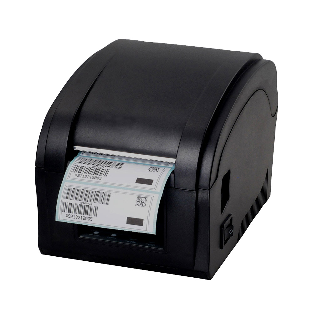 High quality Qr code sticker printer barcode printer Thermal adhesive label printer clothing label printer supermarket direct thermal printing label code printer