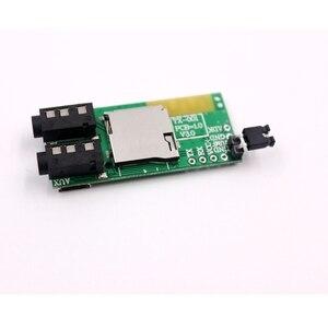 Image 3 - Transmissor e receptor de áudio sem fio 2 em 1, decodificador de placa aux tf bluetooth 4.2 e 3.5mm para fone de ouvido, alto falante diy