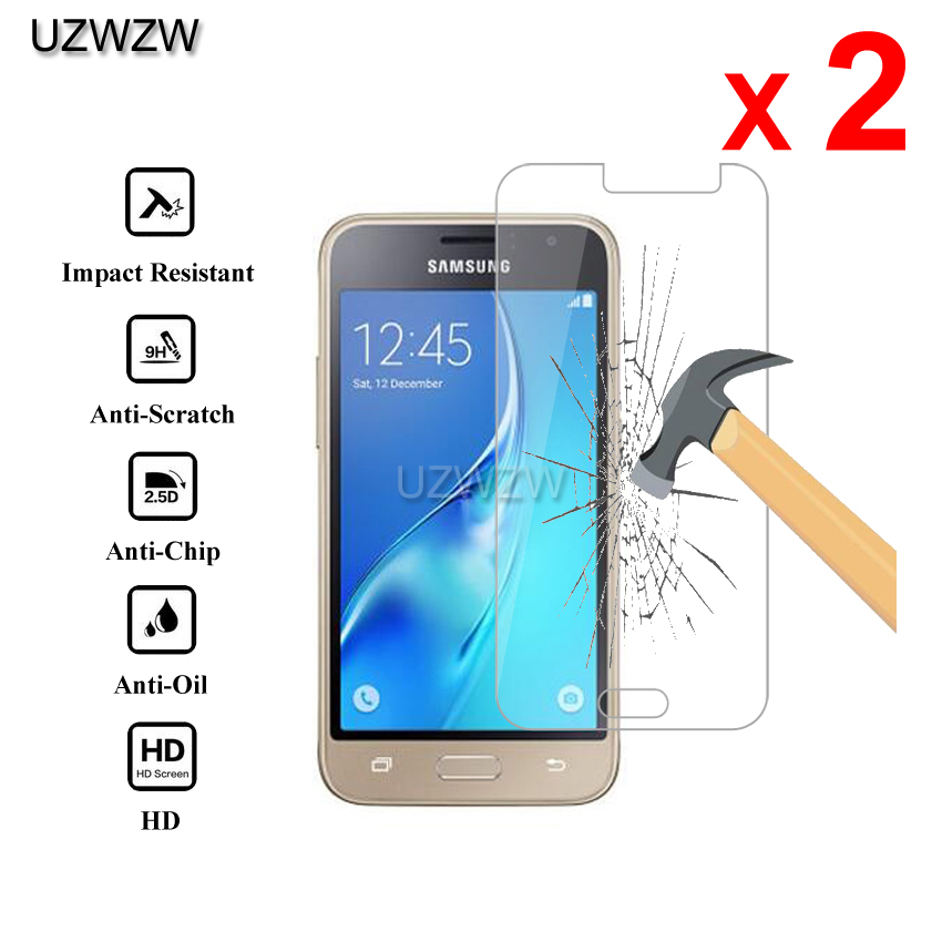 2pcs Premium Tempered Glass For Samsung Galaxy J1 2016 Protective Glass Screen Protector For Samsung J1 2016 Glass-in Phone Screen Protectors from Cellphones & Telecommunications