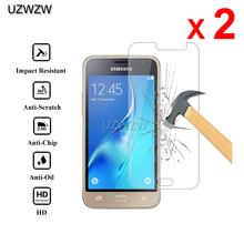 2pcs Premium Tempered Glass For Samsung Galaxy J1 2016 Protective Glass Screen P