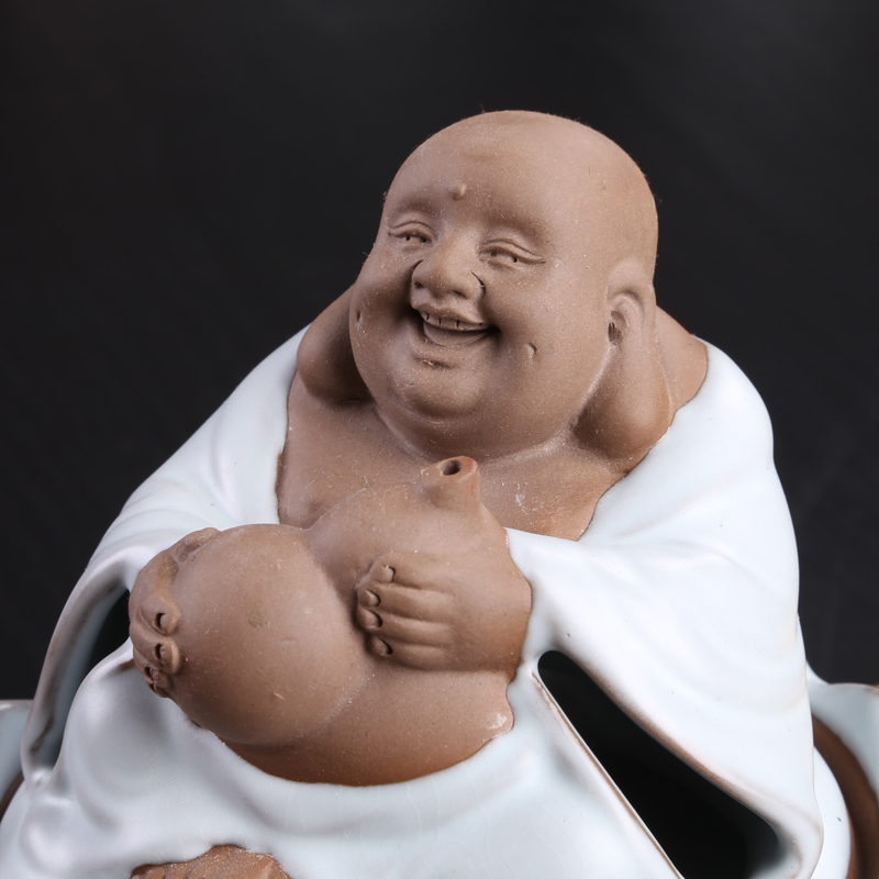 buda Maitreya blessing the ancient fuming furnace Buddha your kiln incense burner Your porcelain teachers culture and art Aloes in Incense Incense Burners from Home Garden
