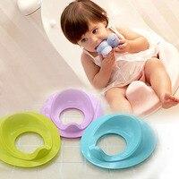 1 Parça Çocuklar Çocuk Bebek Lazımlık Tuvalet Koltuk/Mat Bebek Lazımlık Eğitim Sandalye Taşınabilir Seyahat Tuvalet lazımlık tuvalet