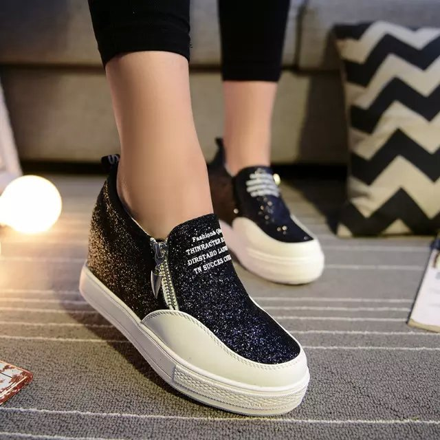 aa5c027e87 2016 Zapatillas De Lovers Moda Zapatos Mujer Nueva La Calidad zqAcw