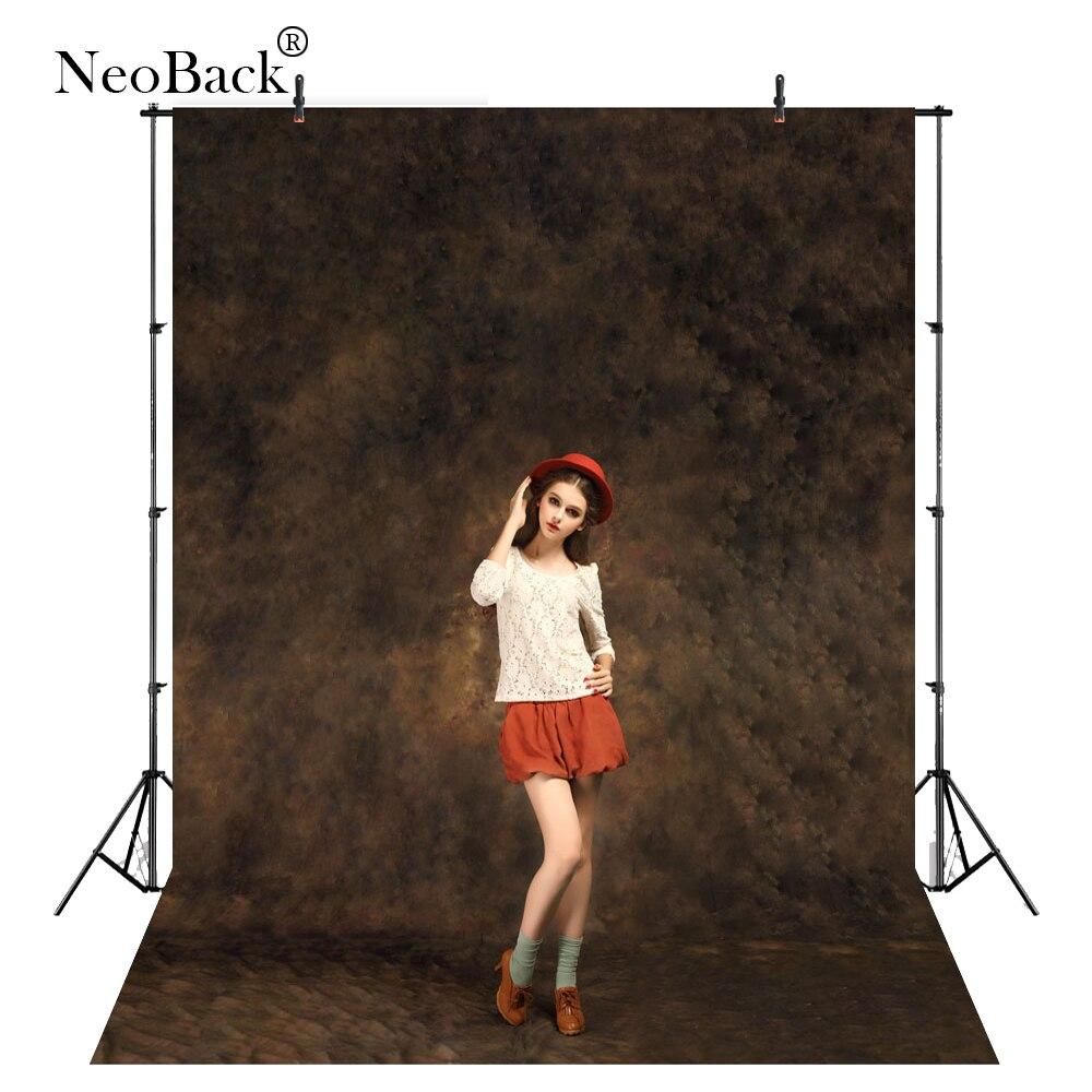 NeoBack Personnalisé Teints muslin photographie décors Vieux maître muslin fond pour photo studio 6X9ft 10X10ft 10X20ft MC0056