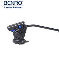 BENRO S4 Hydraulic Tripod Head S Series Pro Camera Ball Head Camera Aluminum Tripod Ballhead Max loading 4kg