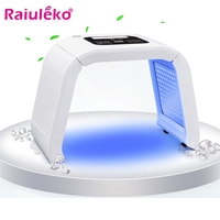 7 Colors PDF Led Light Facial Mask Therapy Beauty Whitening Skin Acne Remover Anti wrinkle Phototherapy Spectrometer Skin Care