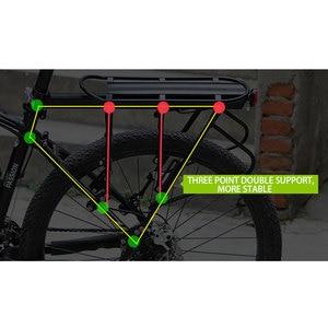 Image 4 - WEST BIKING Bicycle Racks 140 KG Load Luggage Carrier Cargo Aluminum Alloy Rear Rack Cycling Seatpost Bag Holder Stand Bike Rack