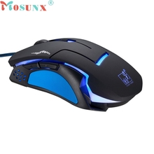 Ecosin2 Mosunx Professional 6D 3200DPI LED Optical Wired Gaming Mouse for Pro Gamer 17Mar10