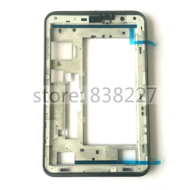 For Samsung Galaxy Tab 2 P3100 P3110 P3113 front housing frame rim middle frame bezel new Grey Silver Free shipping