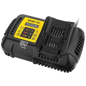 Image 2 - Dcb118 Dcb112 Replacement Battery Charger 4.5A Lithium Ion Fast Charger For Dewalt Dcb205 Dcb206 Dcb203Bt Dcb204Bt Dcb127 Dcb1