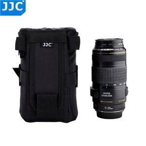 Image 4 - Jjcナイロンデジタル一眼レンズケースソニーA5000 a5100 a6000キヤノン1300DニコンD7200 P900 D5300プロテクターバッグ
